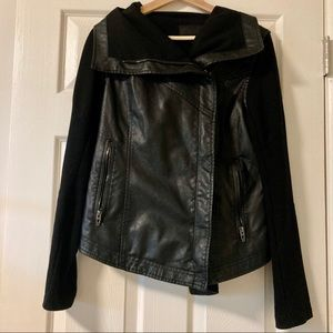 Blank NYC Missed Connection Faux Leather Jacket M